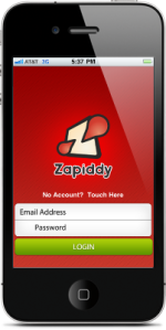 zapiddy-iphone-app