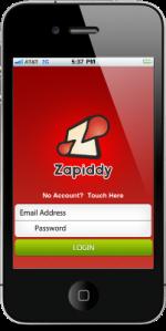 zapiddy-iphone-app